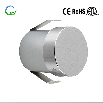 ED wall light, stair light, step light, 12V/24V DC, 1W
