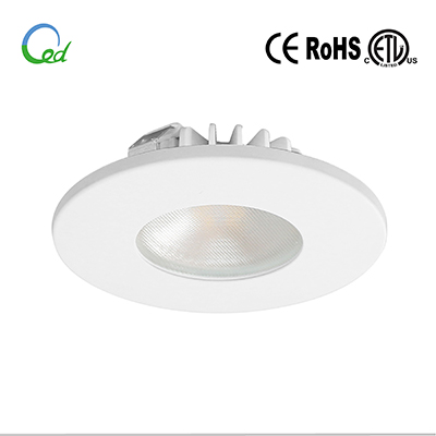 LED cabinet light, LED puck light, LED kitchen light, 12V DC, 24V DC, 3W, surface mounted or recessed mounted, with changeable meganetic trim and surface mounting ring